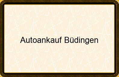 Autoankauf Büdingen