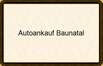 Autoankauf Baunatal