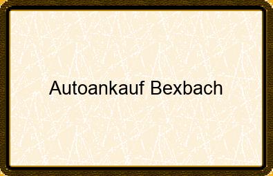 Autoankauf Bexbach