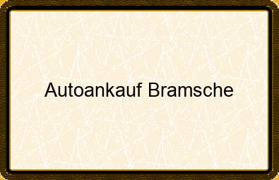 Autoankauf Bramsche