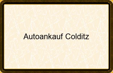 Autoankauf Colditz