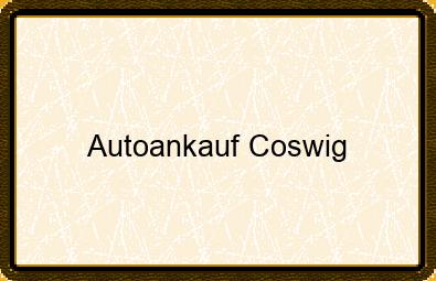 Autoankauf Coswig