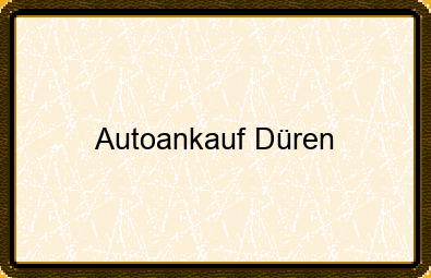 Autoankauf Düren