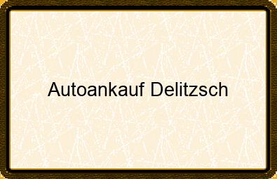 Autoankauf Delitzsch