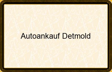 Autoankauf Detmold