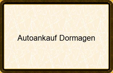 Autoankauf Dormagen