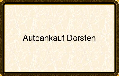 Autoankauf Dorsten