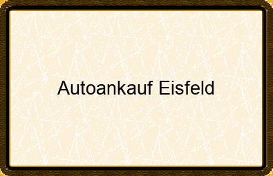 Autoankauf Eisfeld