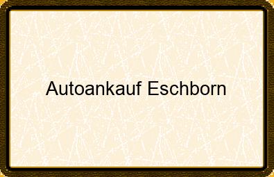 Autoankauf Eschborn