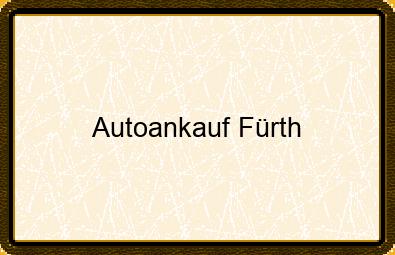 Autoankauf Fürth