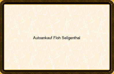 Autoankauf Floh-seligenthal