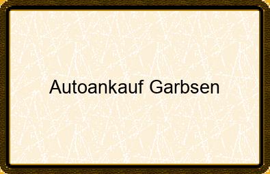 Autoankauf Garbsen
