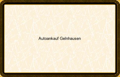 Autoankauf Gelnhausen