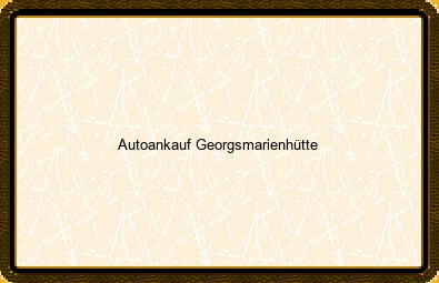 Autoankauf Georgsmarienhütte