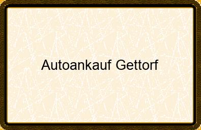 Autoankauf Gettorf