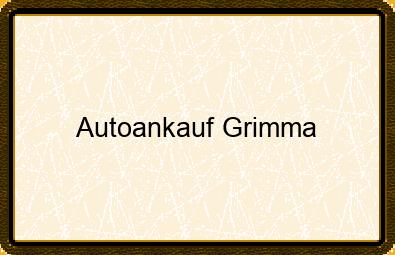 Autoankauf Grimma