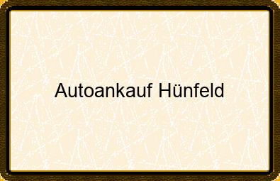 Autoankauf Hünfeld