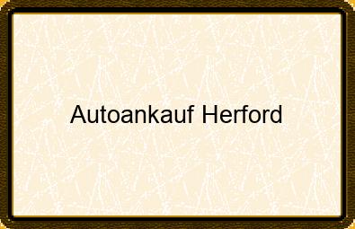 Autoankauf Herford