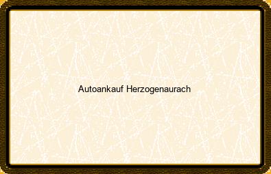 Autoankauf Herzogenaurach