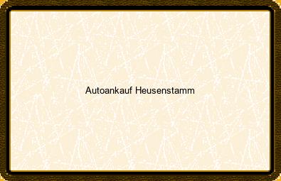 Autoankauf Heusenstamm