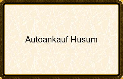 Autoankauf Husum