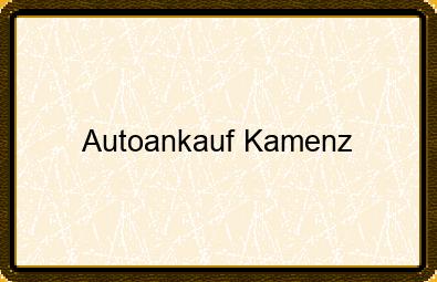 Autoankauf Kamenz
