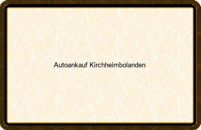Autoankauf Kirchheimbolanden