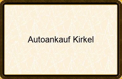 Autoankauf Kirkel