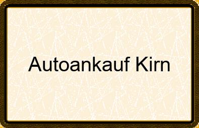 Autoankauf Kirn