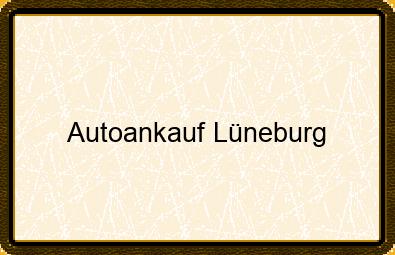 Autoankauf Lüneburg