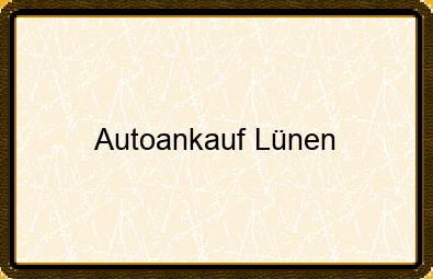 Autoankauf Lünen