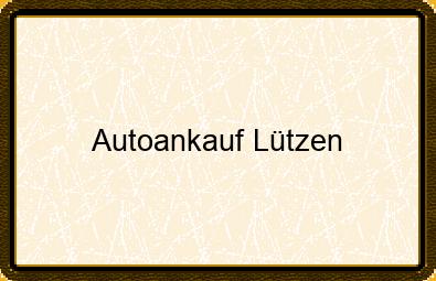 Autoankauf Lützen