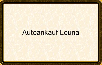 Autoankauf Leuna