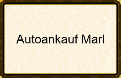 Autoankauf Marl