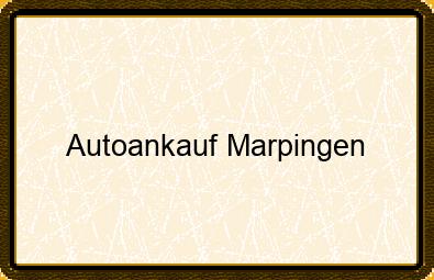 Autoankauf Marpingen