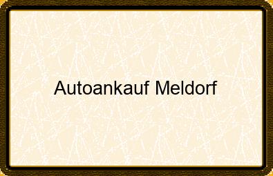 Autoankauf Meldorf