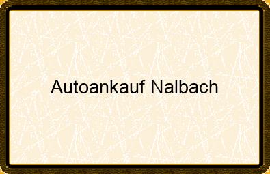 Autoankauf Nalbach