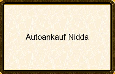 Autoankauf Nidda