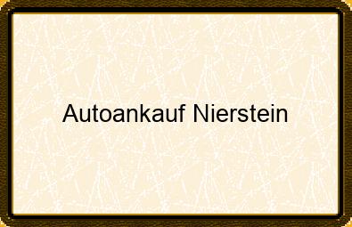 Autoankauf Nierstein