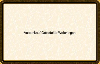 Autoankauf Oebisfelde-weferlingen