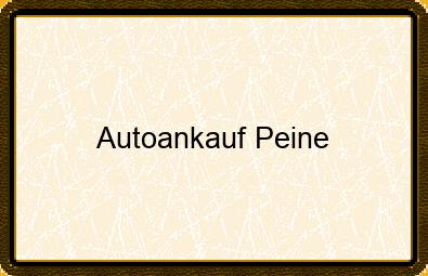 Autoankauf Peine