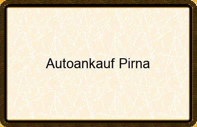 Autoankauf Pirna