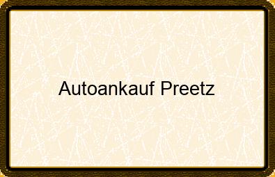 Autoankauf Preetz
