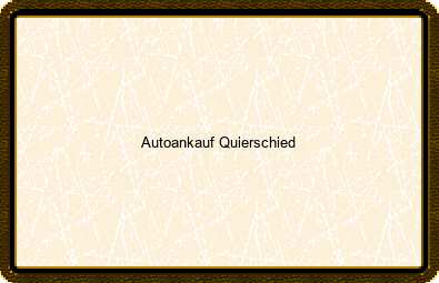 Autoankauf Quierschied