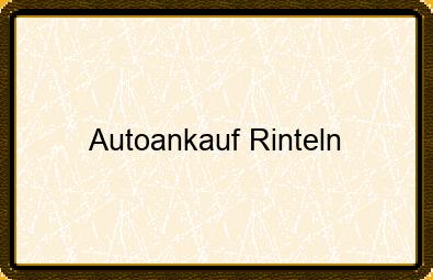 Autoankauf Rinteln