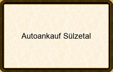 Autoankauf Sülzetal
