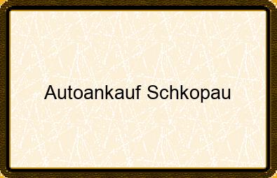 Autoankauf Schkopau