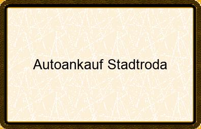 Autoankauf Stadtroda