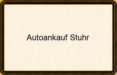 Autoankauf Stuhr