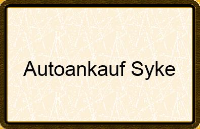 Autoankauf Syke